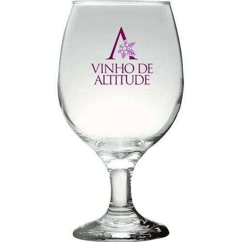 Taça de vidro de vinho personalizada Gallant
